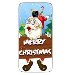 Husa Telefon Samsung Galaxy S9 - Mos Craciun - Merry Christmas