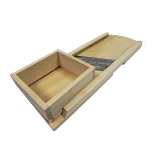 Razatoare de varza manuala, 3 cutite din otel, 650mm