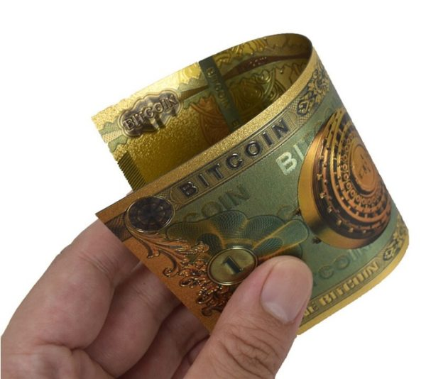 Bancnota Bitcoin - Criptomoneda