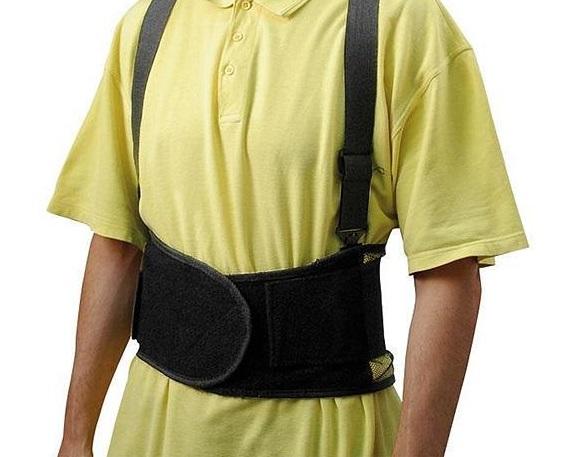 Centura protectie mijloc, spate, zona lombara si abdominala - Marimea M