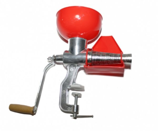 Storcator de Rosii din Aluminiu - Masina de tocat rosii - Separator Seminte si Pielite