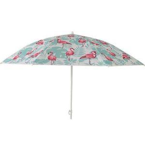 Umbrela de soare rezistenta pentru plaja / piscina cu pasari Flamingo