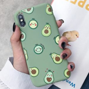 Husa Telefon Huawei P30 - Avocado & Smiley Faces