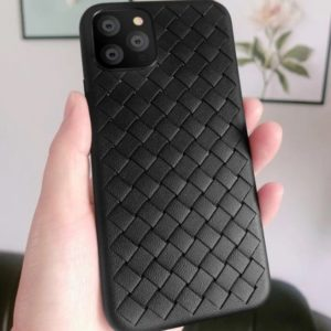 Husa telefon iPhone 11 Pro, culoare neagra, silicon TPU