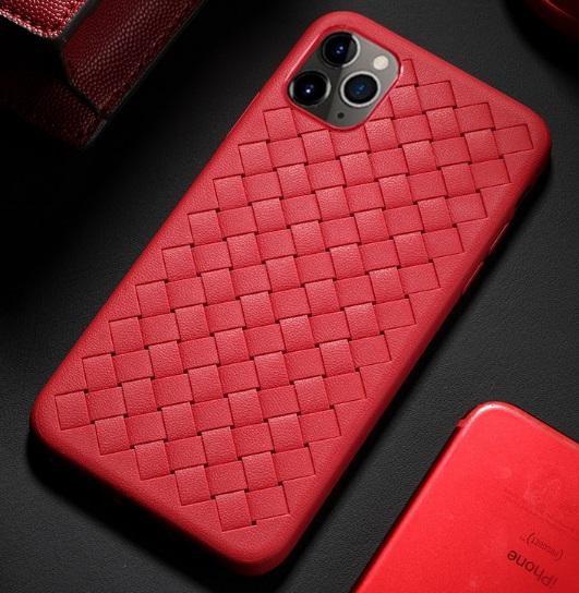 Husa telefon iPhone 11 Pro, culoare rosie, silicon