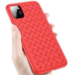 Husa telefon iPhone 11 Pro, rosie, silicon TPU