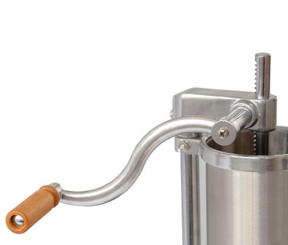 Masina pentru facut carnati 3kg verticala - Carnatar - Manivela