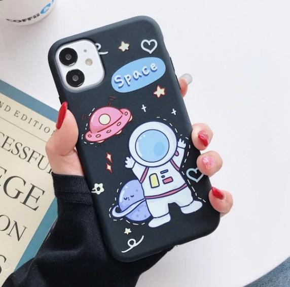 Husa Telefon Huawei P20 - Astronaut si OZN
