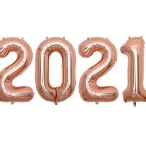 Baloane Cifre 2021 Petrecere Revelion - Balon 2021
