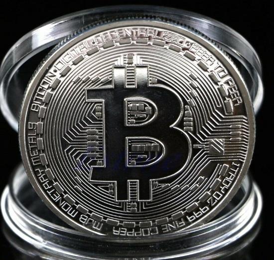 Moneda de colectie Criptomoneda Bitcoin