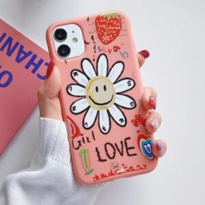 Husa Telefon Huawei P40 Floare Girl Love