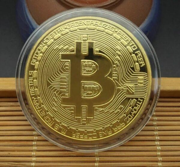 Moneda Fizica Bitcoin Cadou