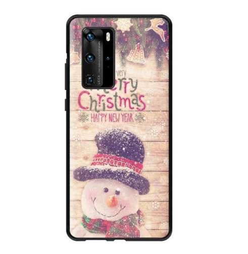 Husa Huawei P30 Om de Zapada Merry Christmas