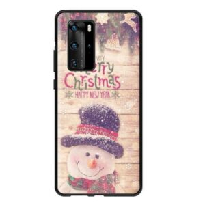 Husa Huawei P30 Lite Om de Zapada Merry Christmas