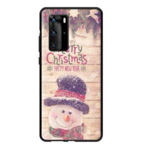 Husa Huawei P40 Lite Om de Zapada Merry Christmas