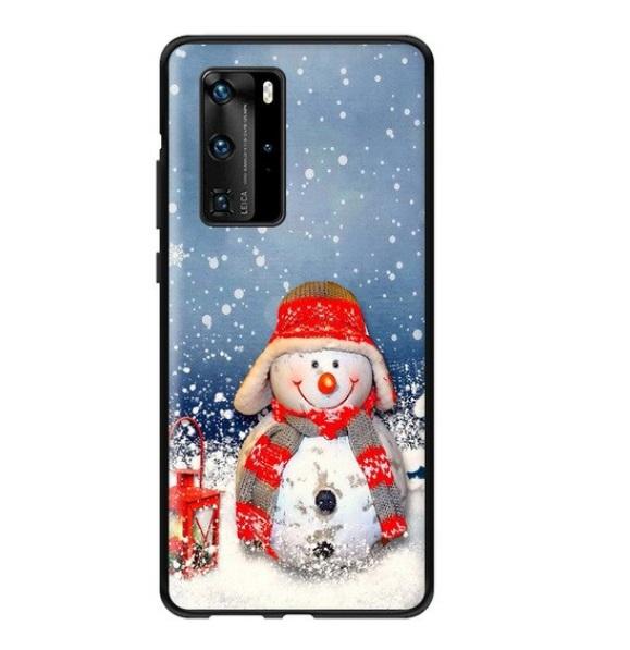 Husa Telefon Huawei P30 Pro Iarna Om de Zapada