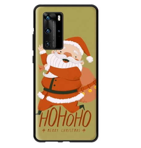 Husa Huawei P20 Lite Mos Craciun, Hohoho