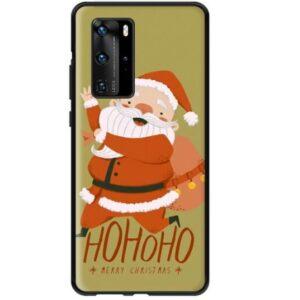 Husa Huawei P20 Mos Craciun, Hohoho