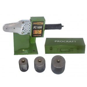 Plita / Aparat de lipit tevi PPR Procraft PL1400, 1400W, 3 bac-uri