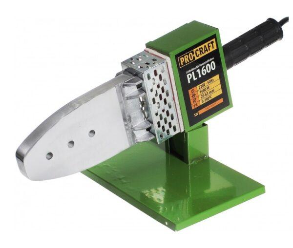 Plita / Aparat de lipit tevi PPR Procraft PL1600, 1600W, 6 Bacuri