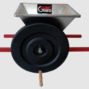 Zdrobitor manual de struguri Grifo PMNI Italia, cuva din inox