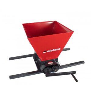Zdrobitor de struguri manual ELEFANT HGP-50, 300-500 kg/h, 35l