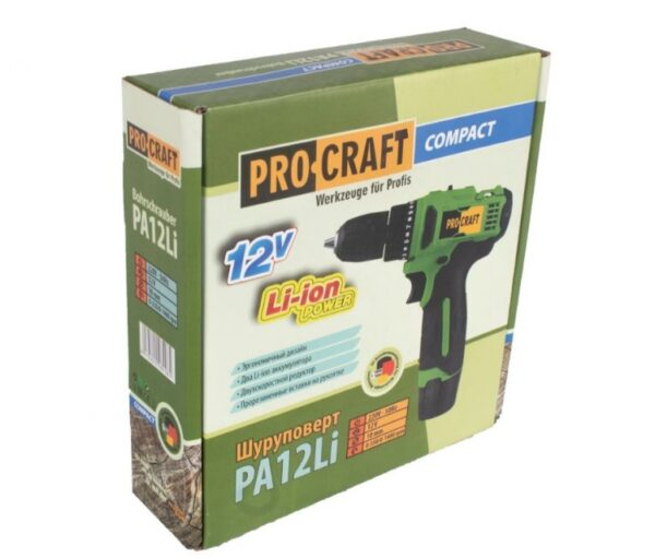 Autofiletanta cu acumulator ProCraft Compact PA12Li - Cutie