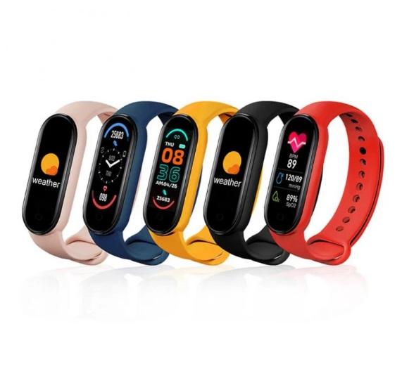 Bratari smartwatch fitness M6 Android/iOS, Bluetooth